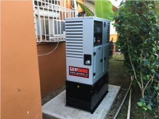 GENERADOR 15KW&TRANSFER AUTOMATICO $8995!, Puerto Rico