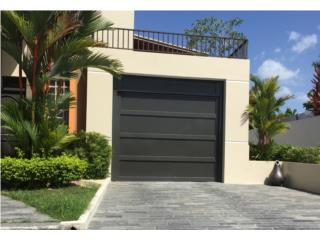 Puerta Para Garage Aluminio Perforada, Puerto Rico