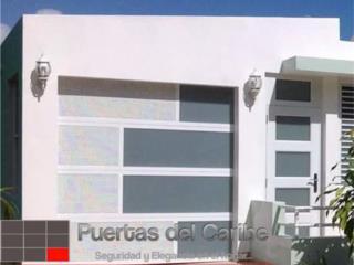 Arquitectura en Puertas de Garaje #1 en P.R, Puerto Rico