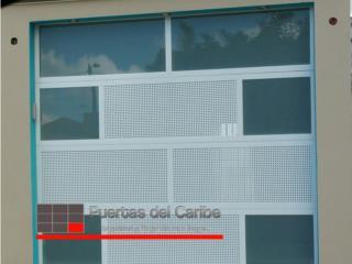 Combinacion cristal y ventilado, Puerto Rico