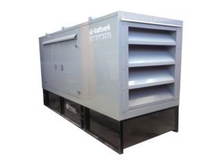 150KW **Diesel con Cabina en Aluminio** , Puerto Rico