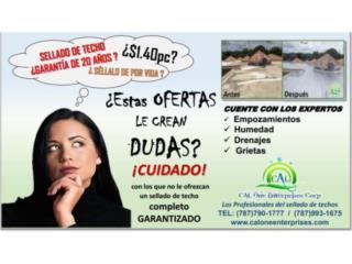 10 a�os de Garant�a, Membranas Danosa, Puerto Rico