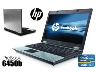 HP ProBook 6450b - Intel Core i5 2.4GHz, Puerto Rico