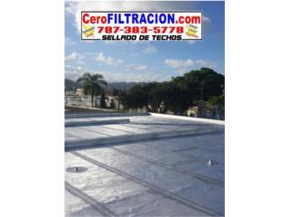 SELLADO DE TECHO CON GARANTIA, 787-383-5778, Puerto Rico