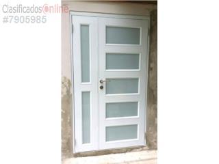 puerta aluminio regular diseo especial x puerto rico