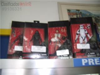 Variedad de figuras de Star Wars, Puerto Rico