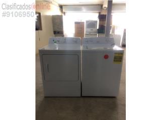 Lavadora y secadora marca GE, Puerto Rico