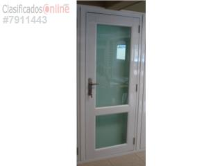 Puerta Panor�mica/Full Glass Heavy Duty 38x84, Puerto Rico