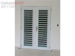 Puerta con Ventana Seguridad Lama 4 60x84, Puerto Rico