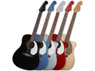 Fender Sonoran SCE Acoustic-Electric Guitar , Puerto Rico