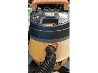 Vacuum Ridgid 14 gal, Puerto Rico