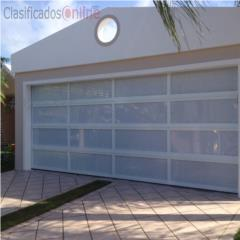 Puerta Garaje Aluminio Heavy 16 x 7 Instalada, Puerto Rico