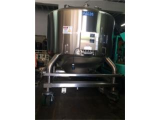 Tanque 1200 galones Stainless Steel Portatil, Puerto Rico