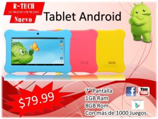 Tablet Android , Puerto Rico