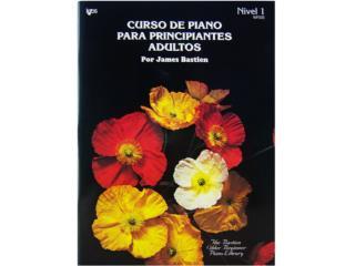 Curso de Piano Para Principiantes y Adultos, Puerto Rico