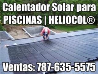 CALENTADOR PISCINA SOLAR , Puerto Rico