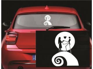 Sticker Jack and Sally Nightmare Before Chri-, Puerto Rico