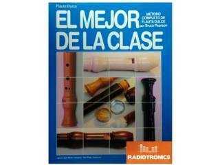 LIBRO EL MEJOR DE LA CLASE PARA FLAUTA DULCE, Puerto Rico