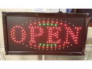 LED Extra Bright Open Sign  23, Puerto Rico