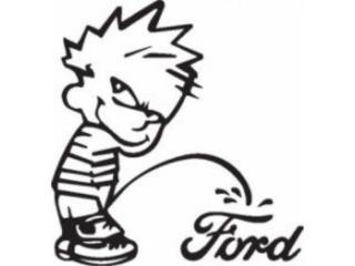 Calvin Orina Ford Sticker Funny, Puerto Rico