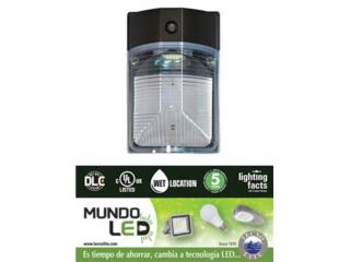 LAMPARA LED DE PARED PLASTICA EXTERIOR, Puerto Rico