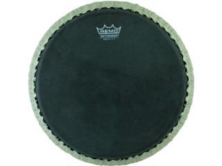 Remo Skyndeep Bongo Drumhead Black, Puerto Rico