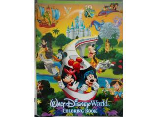 Walt Disney World Coloring Book, Puerto Rico