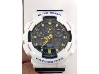 Reloj Gshock Blanco/Negro, Puerto Rico