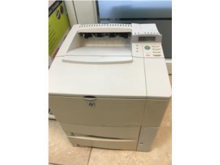 Impresona HP LaserJet 4100tn, Puerto Rico
