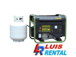 PLANTA ELECTRICA 4000W GAS PROPANO NUEVA!, Puerto Rico