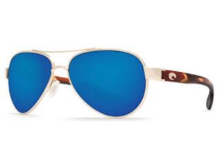 COSTA Sunglasses Loreto Rose Gold/Blue 580G, Puerto Rico