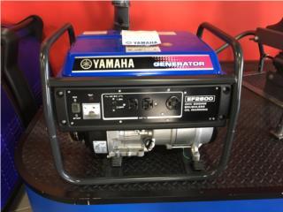 Generador Yamaha  2,600 , Puerto Rico