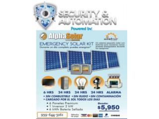 Planta Eléctrica Solar de 2000 Watts, Puerto Rico
