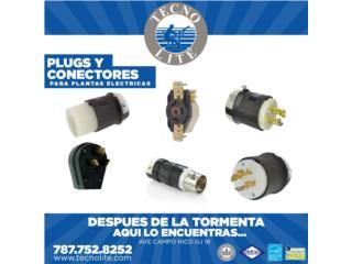 PLUGS Y RECEPTACULOS PARA PLANTAS ELECTRICA, Puerto Rico