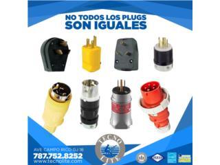 PLUGS Y CONECTORES PARA PLANTAS ELECTRICAS, Puerto Rico