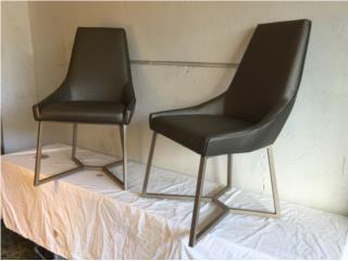 2 New Modern Style Chairs, Puerto Rico