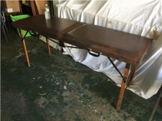 Mesa de Masaje Vintage. Massage table, Puerto Rico