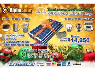 Planta Solar Mueve tu casa sin combustible, Puerto Rico