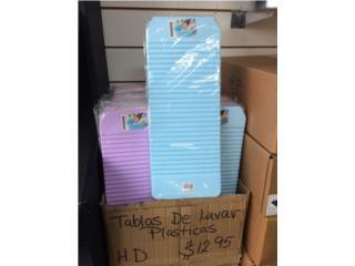 Tablas de plastico para lavar ropa $12.95, Puerto Rico