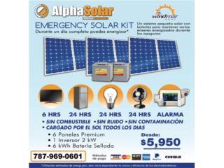 Planta solar para negocio *sin combustible*, Puerto Rico