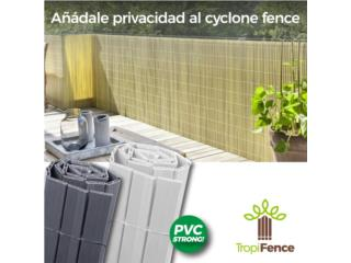 cyclone fence cover, Puerto Rico