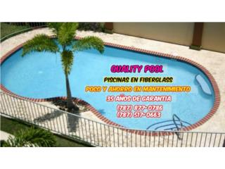Piscinas Fiberglass 35 Años de Garantia, Puerto Rico