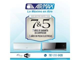 Airmax inverter oferta desde 495.00, Puerto Rico