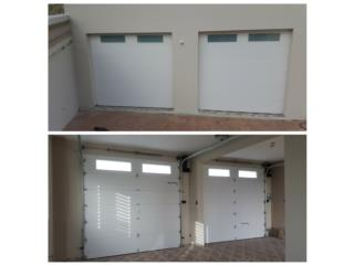 Puertas de Garaje con instalacion, Puerto Rico