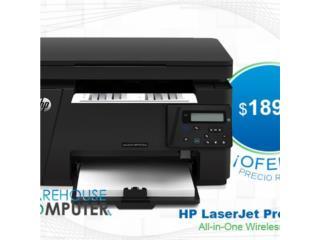 HP LaserJet Pro M125nw All-in-One Wireless, Puerto Rico