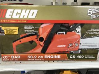 echo chainsaw cs490, Puerto Rico