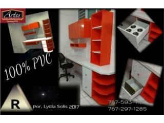 Muebles de oficina en PVC,escritorio en pvc ,, Puerto Rico