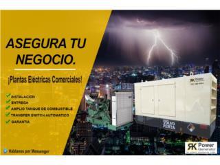Plantas Eléctricas Para tu Negocio, Puerto Rico