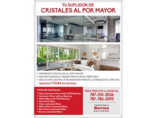 Venta de Cristales Al Por Mayor!!, Puerto Rico