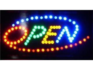 LED Sign Open 19 x 10, Puerto Rico